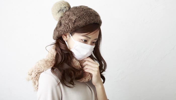 インフルエンザ予防にはまずはマスク