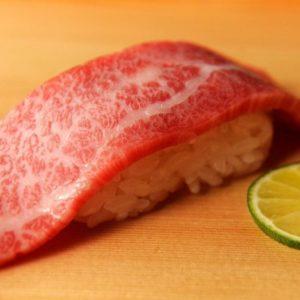 肉握り寿司  霜降り/赤身